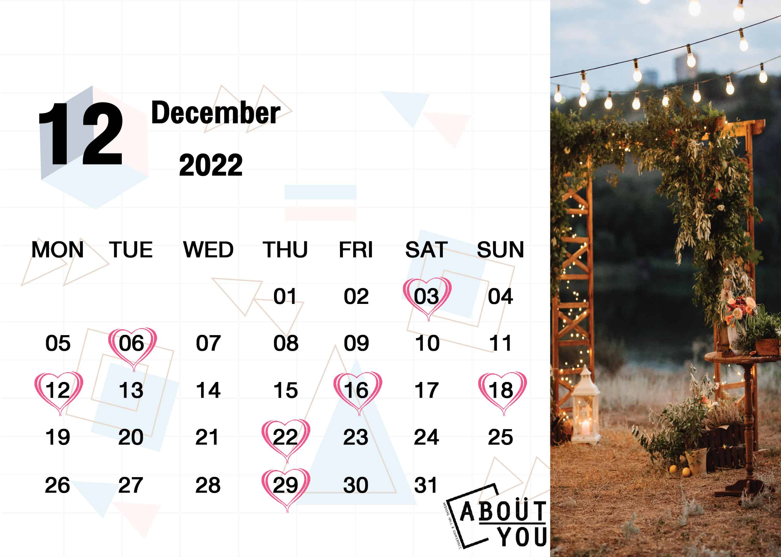 calendar About you-13